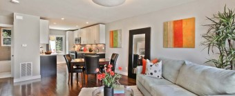 example of staged home for sale